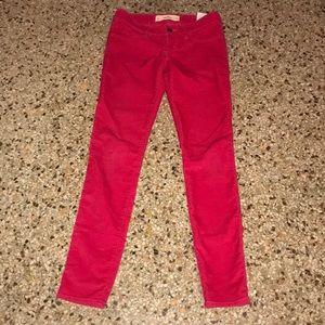 Hollister Corduroy Skinny Pants Size 24